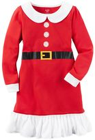 Carter's Girls 4-14 Santa Suit Nightgown