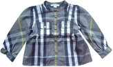 Burberry Anthracite Cotton Top