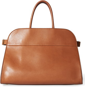 The Row Margaux 15 Leather Bag