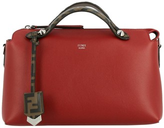 Fendi Small Bag By The Way In Smooth Leather With Removable Shoulder Strap And Ff Handles