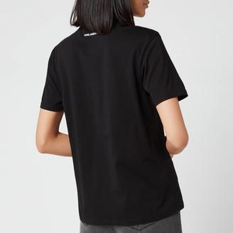 Karl Lagerfeld Paris Women's Legend Print T-Shirt
