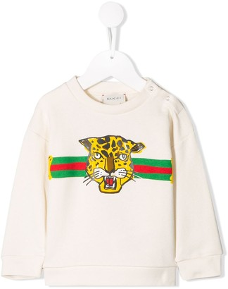 Gucci Kids Tiger T-shirt