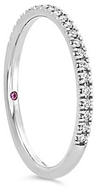 Hayley Paige for Hearts on Fire Platinum Diamond Sloane Wedding Band