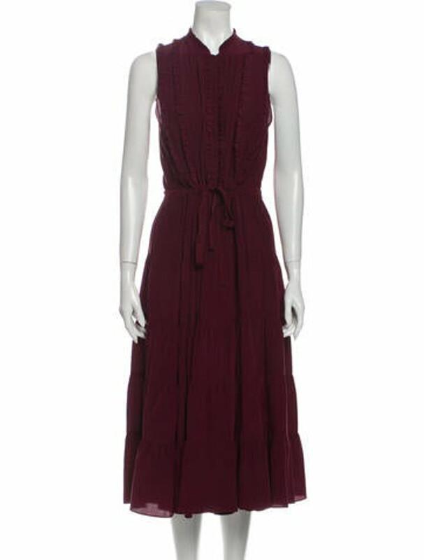 Thumbnail for your product : Ulla Johnson Silk Midi Length Dress