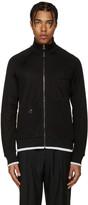 Lanvin Black Tracksuit Zip-Up Sweater