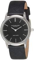Stuhrling Original Men's Classic 'Newberry' Super Slim Quartz Watch 238.32151