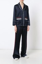 Derek Lam Long Sleeve Pajama Blouse