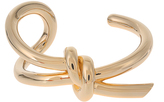 Balenciaga Asymmetric bow cuff