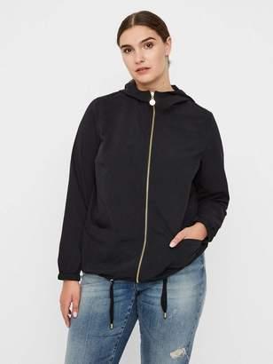Junarose Unlined Light Jacket in Black Size Large Polyester