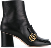 Gucci fringed ankle boots - women - Leather - 35