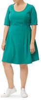 Junarose Jrpasleka Short Sleeves Swing Dress