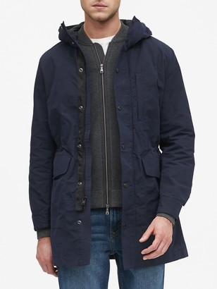 Banana Republic Water-Resistant Parka