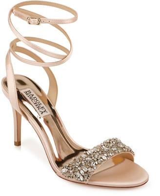 Badgley Mischka Jen Satin Sandals