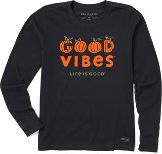 Life is Good Women's Good Vibes Crusher Tee