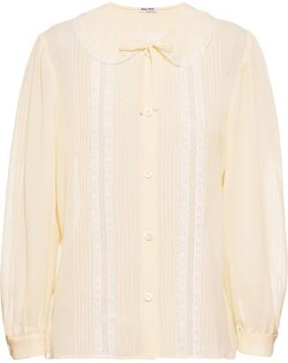 Miu Miu Georgette Shirt