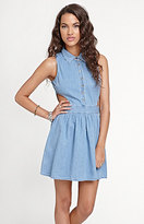 Kirra Denim Cutout House Dress