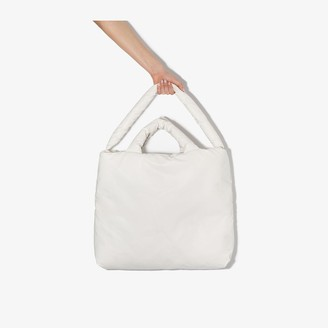 Kassl Editions white Oil large tote bag