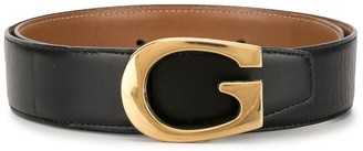 Gucci Pre Owned Logo Buckle Belt