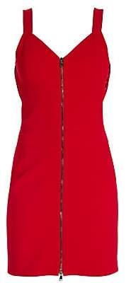Moschino Women's Zip Front Mini Dress