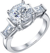 JCPenney FINE JEWELRY Diamonore 3 3/8 CT. T.W. Simulated Diamond Ring