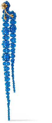 Simone Rocha Sterling Silver Crystal Earrings