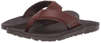 OluKai Kua'aina (Koa/Espresso) Men's Sandals