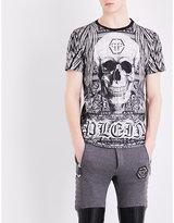 Philipp Plein Skull-print Cotton T-shirt