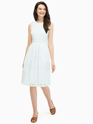 Kate Spade Casual Spade Eyelet Dress