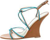 Sigerson Morrison Woven Leather Sandals