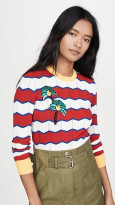Stella Jean Striped Sweater