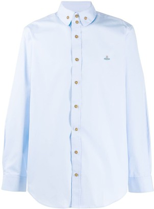 Vivienne Westwood Button-Down Embroidered Shirt