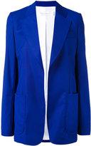 Victoria Beckham classic blazer - women - Viscose/Wool - 14