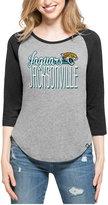 '47 Women's Jacksonville Jaguars Club Block Raglan T-Shirt