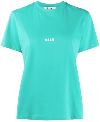 MSGM mini logo-print T-shirt