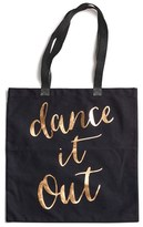 Rosanna 'Dance It Out' Canvas Tote - Black