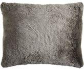 Pier 1 Imports Faux Fur Chinchilla Standard Pillow Sham
