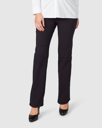 Pea In A Pod Maternity Lisa Fold Waist Straight Leg Pants