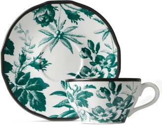 Gucci Herbarium demitasse cup and saucer, double set