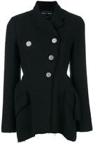 Proenza Schouler Asymmetrical Cotton Tweed Blazer