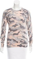 Equipment Abstract Print Wool-Blend Sweater