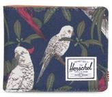 Herschel Men's Hank Rfid Wallet - Blue