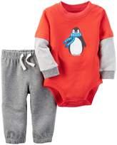 Carter's Baby Boys Bodysuit Pant Sets 121g843