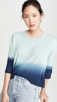 Splendid Plunge Tie Dye Pullover