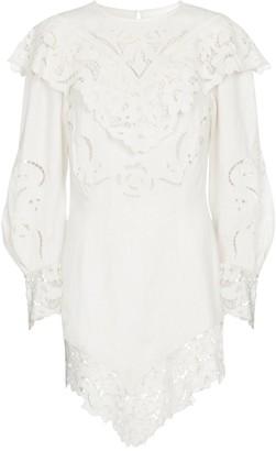 Isabel Marant Ellery linen minidress