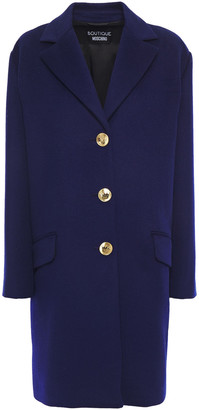 Boutique Moschino Brushed Wool-blend Coat