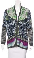 Clover Canyon Printed Knit Cardigan