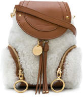 See by Chloe Shearling Olga backpack