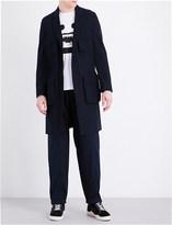 Undercover Pocket-detail cotton-blend coat