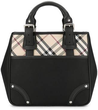 Burberry Pre-Owned Check tote bag