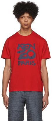 Kenzo Red Paris T-Shirt